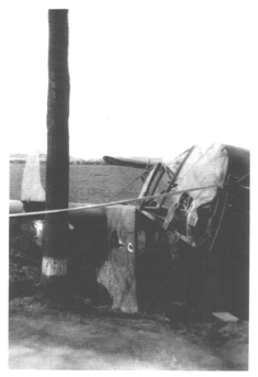 Wrecked Glider near Wesel